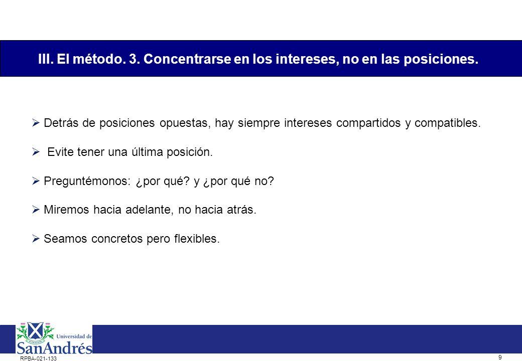 8 RPBA-021-133 Los negociadores son personas: perciben de manera diferente y les cuesta comunicarse claramente.
