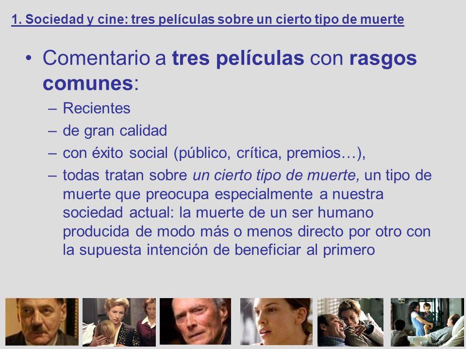 También hay diferencias entre las tres películas, sobre todo en cuanto a su función social: –Catártica –Crítica –Ideológica 1.
