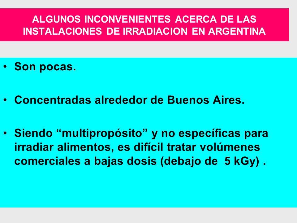 IRRADIACION DE ALIMENTOS PRINCIPALES HECHOS Y LOGROS EN ARGENTINA 40 AÑOS DE I&D EN CNEA-APOYO DE IAEA.