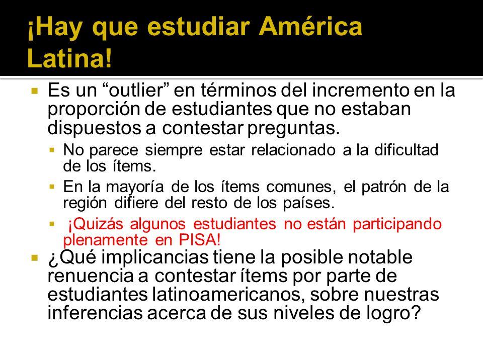 ¡Hay que estudiar América Latina.