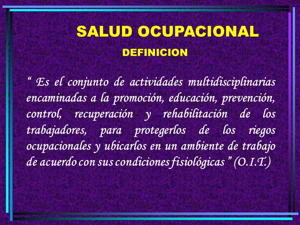La Salud y la Seguridad en el Trabajo INTRODUCCIÓN A LA SALUD Y LA SEGURIDAD LABORALES 2.004 DR. ATILIO CASCO VERON Médico del Trabajo Asistente Técni