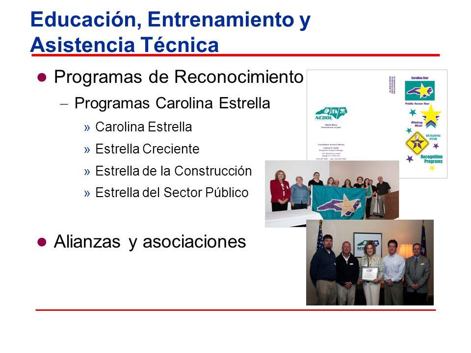 Programas de Reconocimiento Programas Carolina Estrella »Carolina Estrella »Estrella Creciente »Estrella de la Construcción »Estrella del Sector Públi