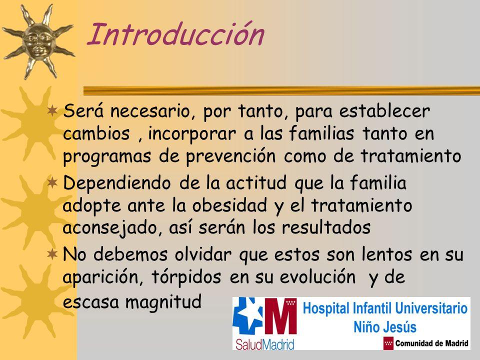 Introducción Será necesario, por tanto, para establecer cambios, incorporar a las familias tanto en programas de prevención como de tratamiento Depend