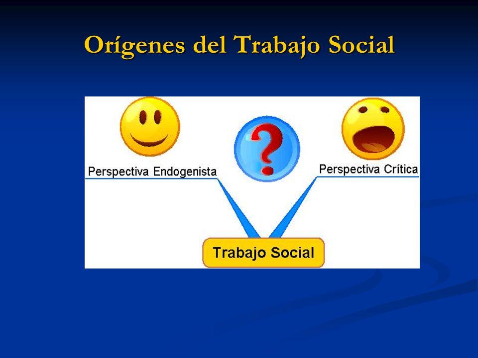 Concepciones del Trabajo Social (Quiroz, 1999)