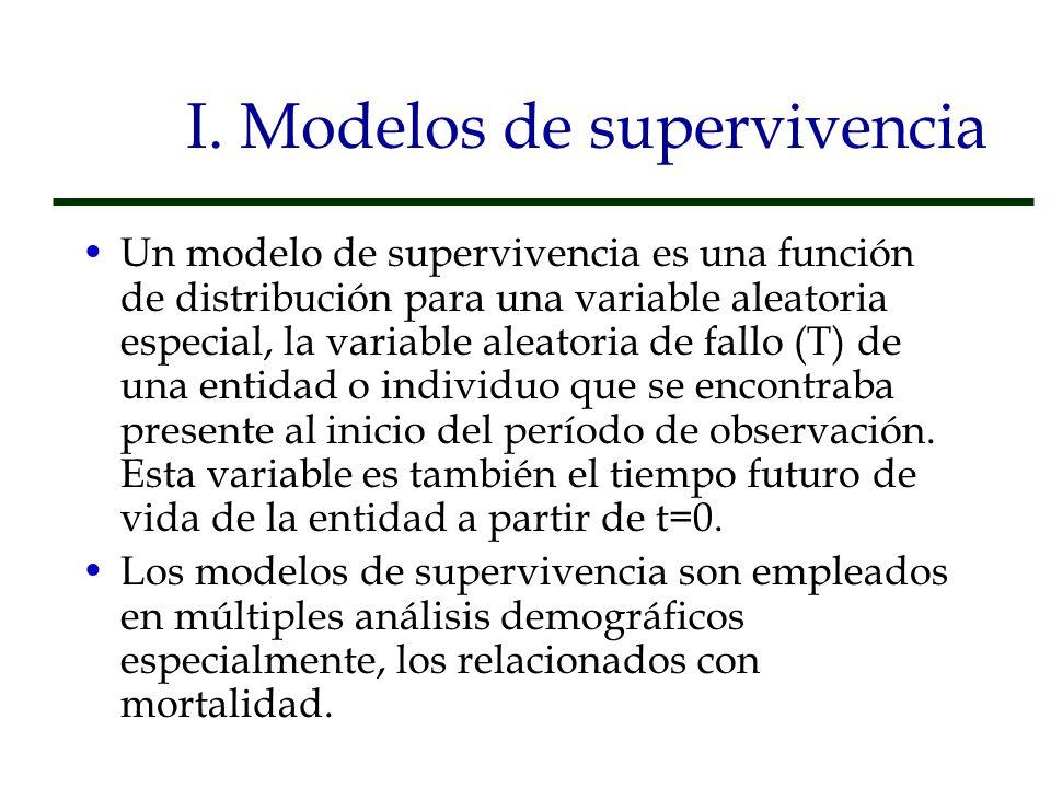 Tablas Modelo En los casos en los que no se cuenta con información suficiente o de buena calidad para producir una tabla de mortalidad, se puede recurrir al uso de tablas modelo.