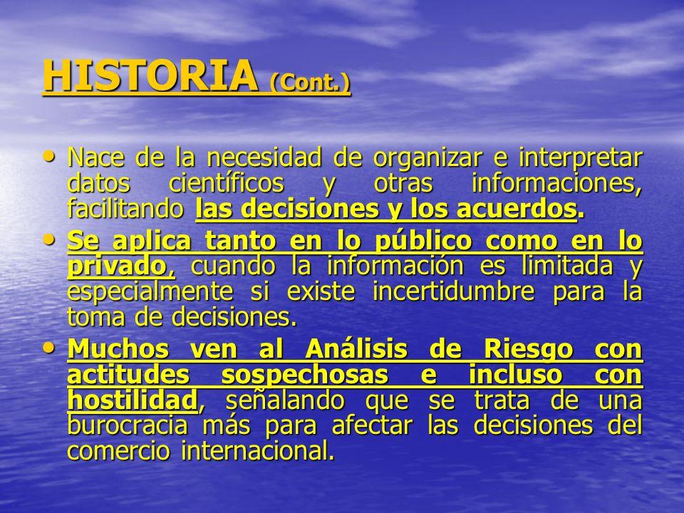 ROL DE LOS SERVICIOS DEL ESTADO FRENTE AL ANALISIS DE RIESGO.