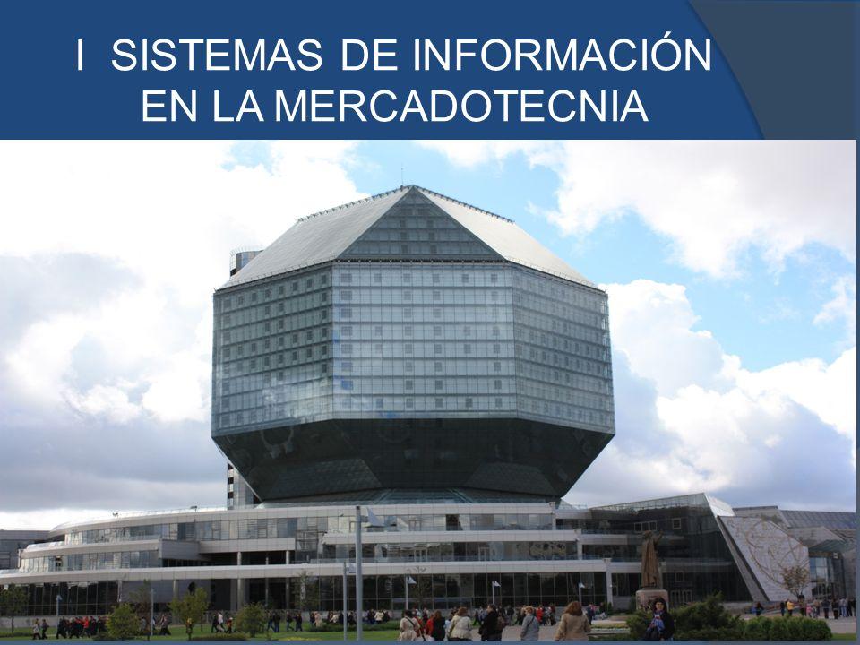 I SISTEMAS DE INFORMACIÓN EN LA MERCADOTECNIA