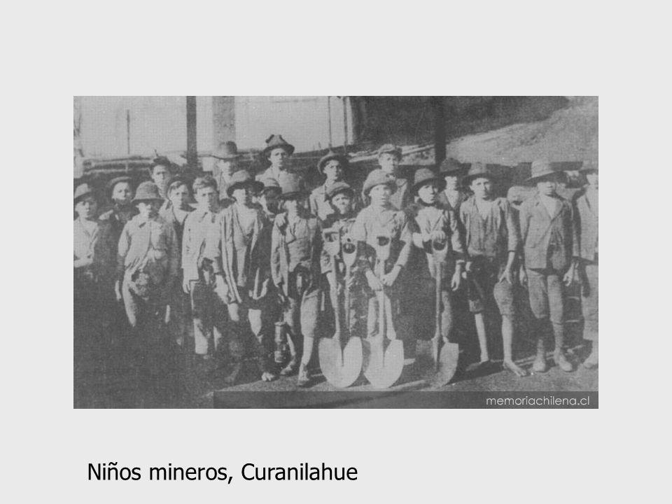 Niños mineros, Curanilahue