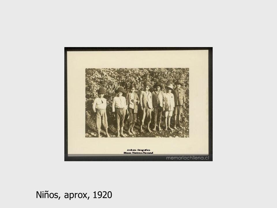 Niños, aprox, 1920