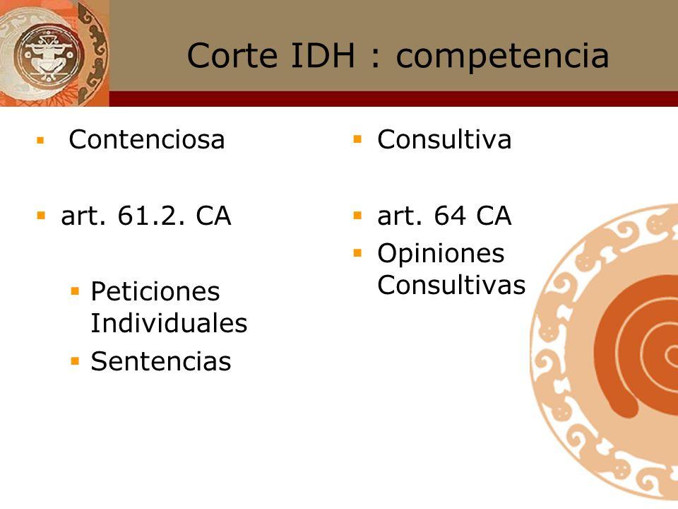 Corte IDH : integración