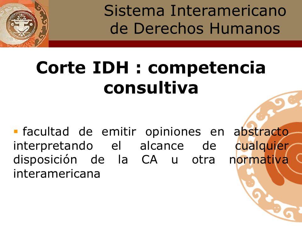 Competencia contenciosa Sólo los Estados Partes y la Cidh pueden someter un caso a la Corte. ¿Cuál es el rol de las víctimas y/o sus representantes? :