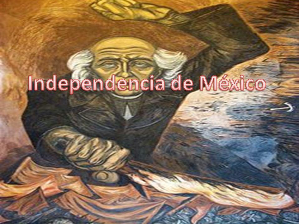 Miguel Hidalgo y Costilla Dolores José María Morelos y Pavón Allende Juan Aldama Josefa Ortiz de Domínguez Agustín de Iturbide El pípila Francisco J.
