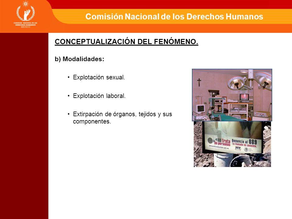 Comisión Nacional de los Derechos Humanos Generar modelos de protección y asistencia.