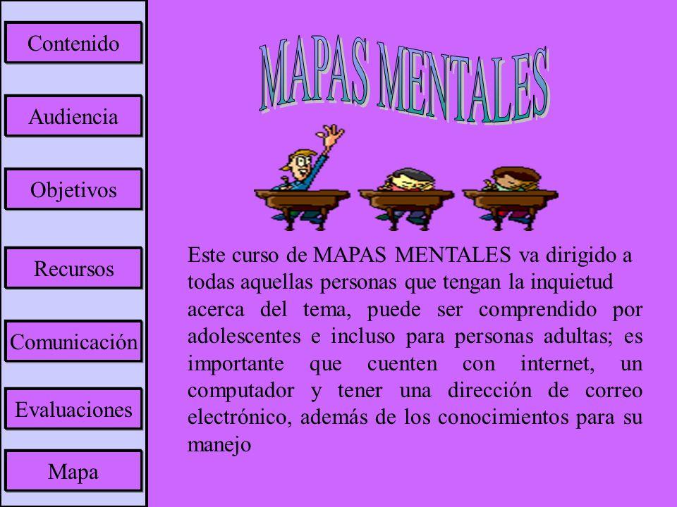 Objetivo General: -Demostrar que los mapas mentales son una herramienta para el desarrollo de contenidos y una excelente técnica de estudio.