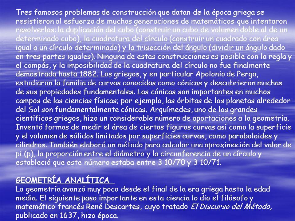 Estos postulados fueron considerados por Pitágoras y sus discípulos como verdades evidentes; sin embargo, en el pensamiento matemático moderno se cons