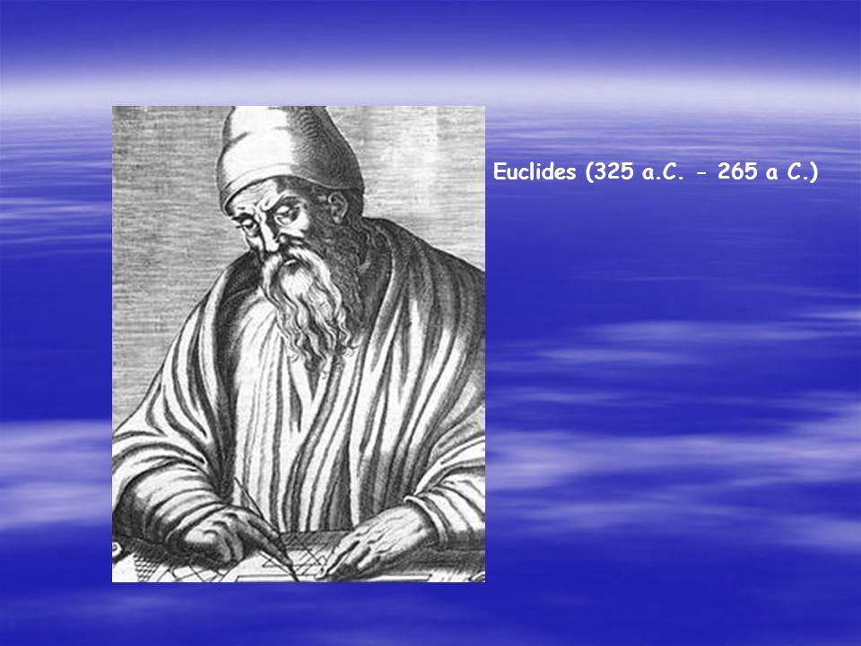 En una ocasión, el rey Ptolomeo preguntó a Euclides si había un camino más breve que el que él utilizaba en Los Elementos para estudiar Geometría, él
