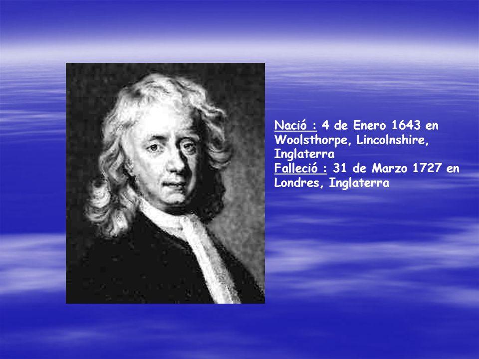 Los cuatro años siguientes fueron de gran actividad para Newton, que animado por el éxito de Principios, trató de compendiar todos sus primeros logros