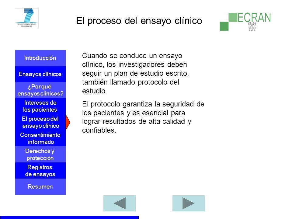 Introducción Ensayos clínicos ¿Por qué ensayos clínicos.