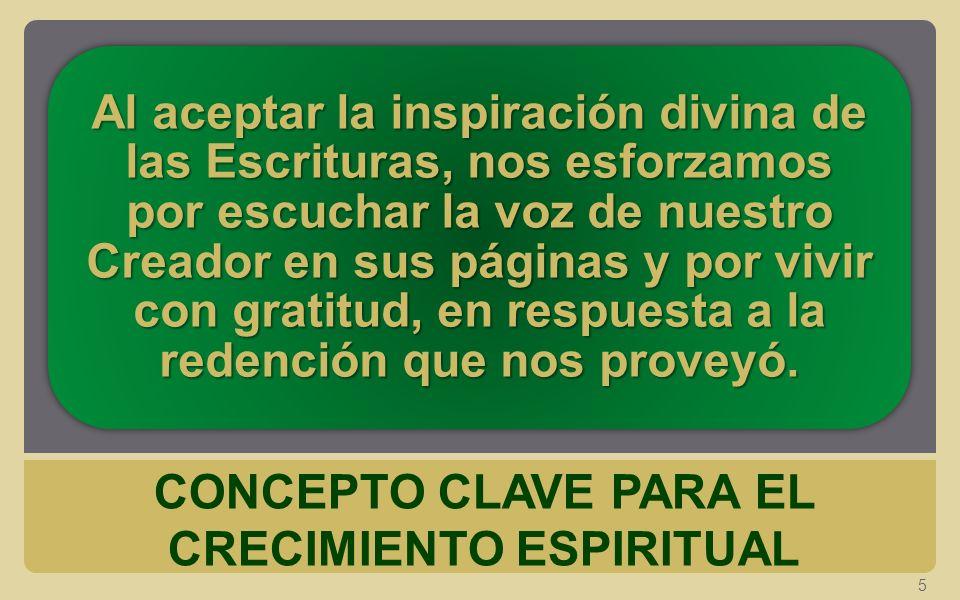 CONCEPTO CLAVE PARA EL CRECIMIENTO ESPIRITUAL 5