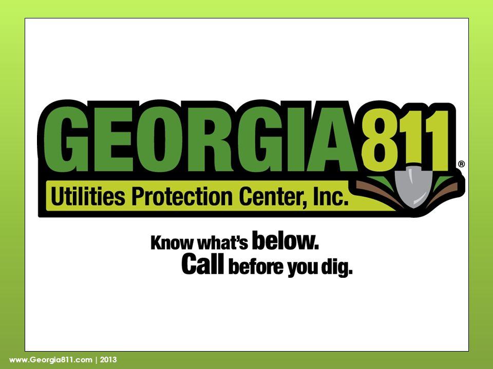 www.Georgia811.com | 2013