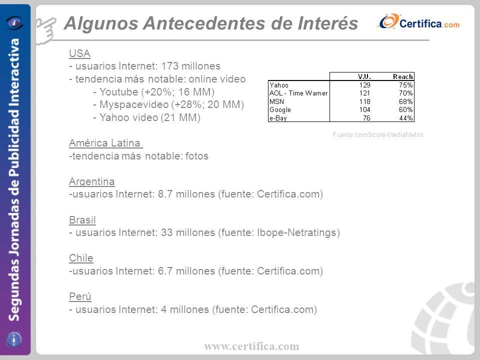 www.certifica.com 3. Caso Práctico: Las Últimas Noticias