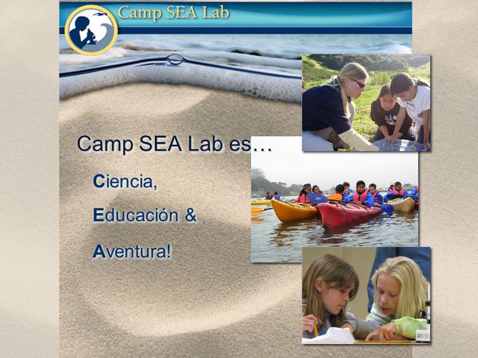 Ciencia, Educación & Aventura! Ciencia, Educación & Aventura! Camp SEA Lab es…