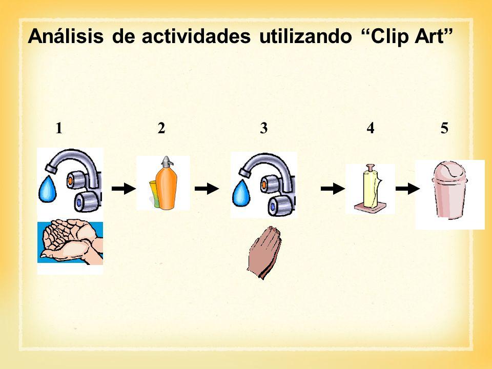 12345 Análisis de actividades utilizando Clip Art