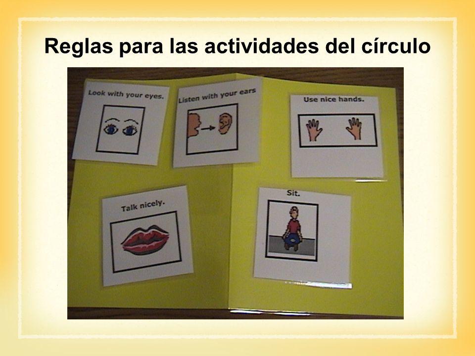 Reglas para las actividades del círculo