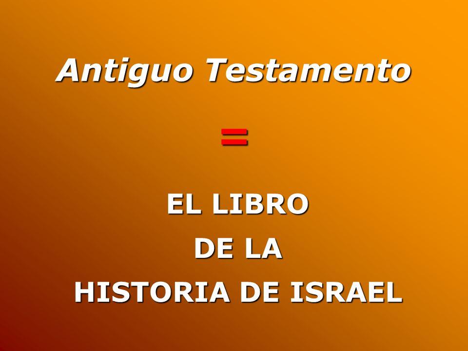 Historia de Israel Historia bíblica
