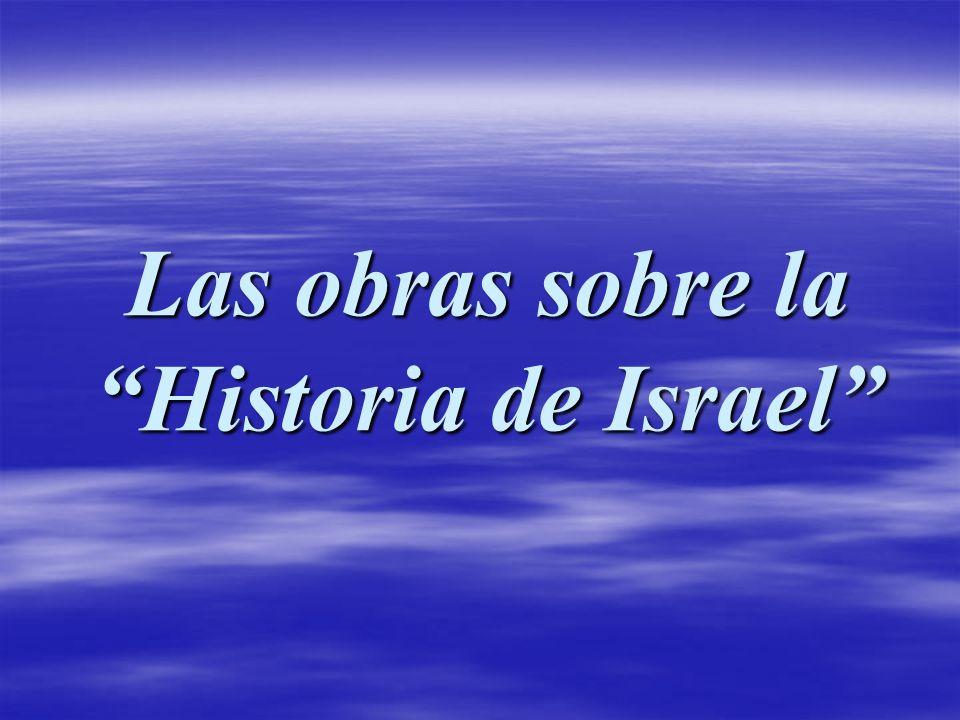 Las obras sobre la Historia de Israel