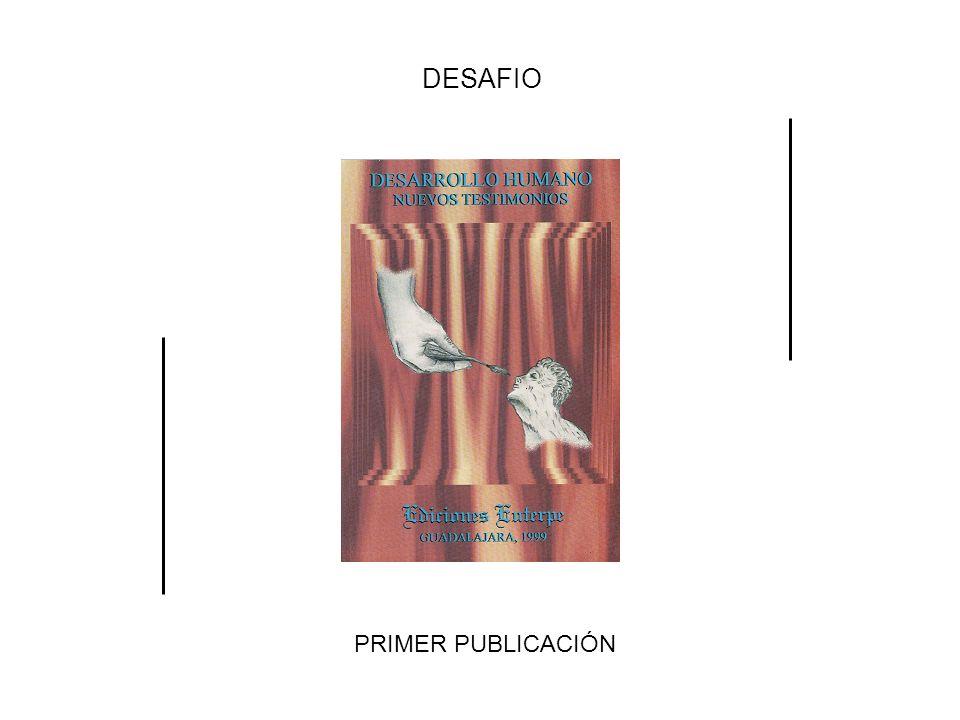 DESAFIO PRIMER PUBLICACIÓN