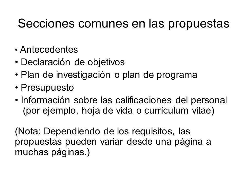 Preparación de un CV (cont.) Una muestra de CV: http://www.cce.columbia.edu/sites/cce/files /CurriculumVitae.pdf http://www.cce.columbia.edu/sites/cce/files /CurriculumVitae.pdf Otro recurso: http://www.training.nih.gov/careers/careerc enter/cv.html