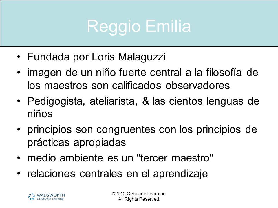 Reggio Emilia Fundada por Loris Malaguzzi imagen de un niño fuerte central a la filosofía de los maestros son calificados observadores Pedigogista, at