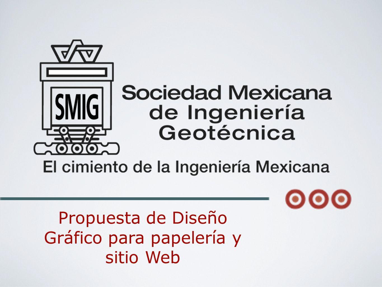 Promover el desarrollo de los ingenieros dedicados a la docencia, la investigación y la práctica profesional en la Ingeniería Geotécnica en México, consolidando una relación de crecimiento que permita estar a la vanguardia de la ingeniería, mediante la difusión de publicaciones técnicas de gran calidad y la participación eneventos especializados, tanto nacionales como extranjeros.