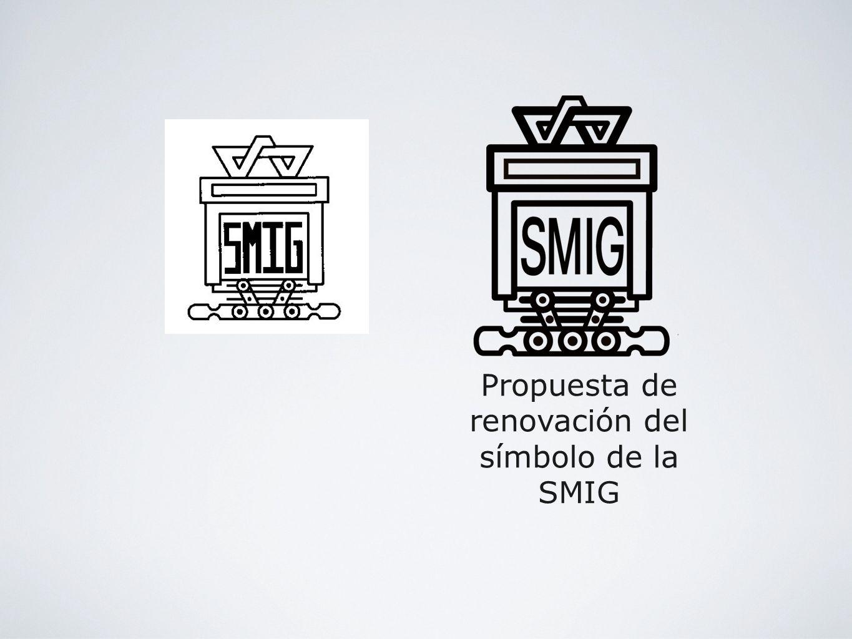 Propuesta de renovación del símbolo de la SMIG