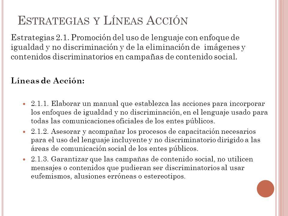 Estrategias 2.1.