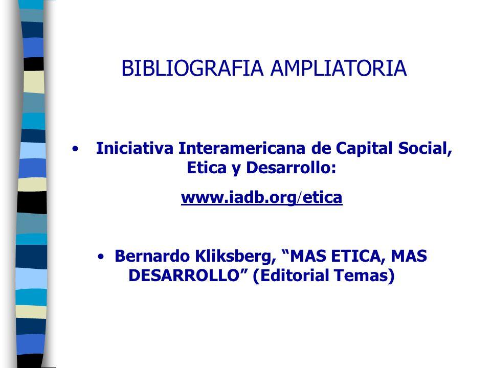 I.ACERCA DE ESCANDALOS ETICOS 1.La Explosión de la Pobreza.
