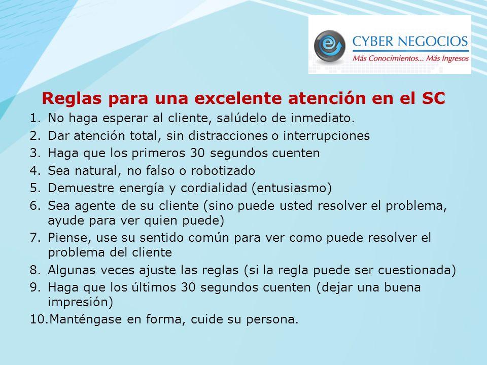 Importancia del Servicio al Cliente : Un buen servicio al cliente puede llegar a ser un elemento promocional para las ventas tan poderosas como los de