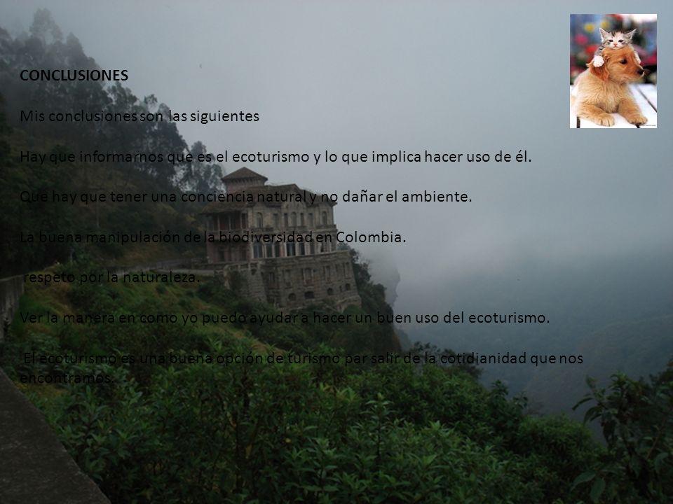 El salto del Tequendama es una cascada ubicada al sur de la capital en una región boscosa.