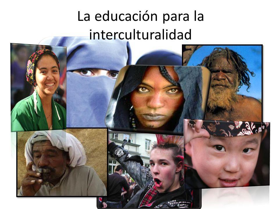 La educación para la interculturalidad Dra. Sabine Pfleger