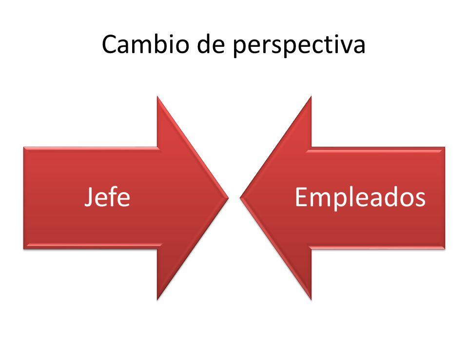 Cambio de perspectiva JefeEmpleados