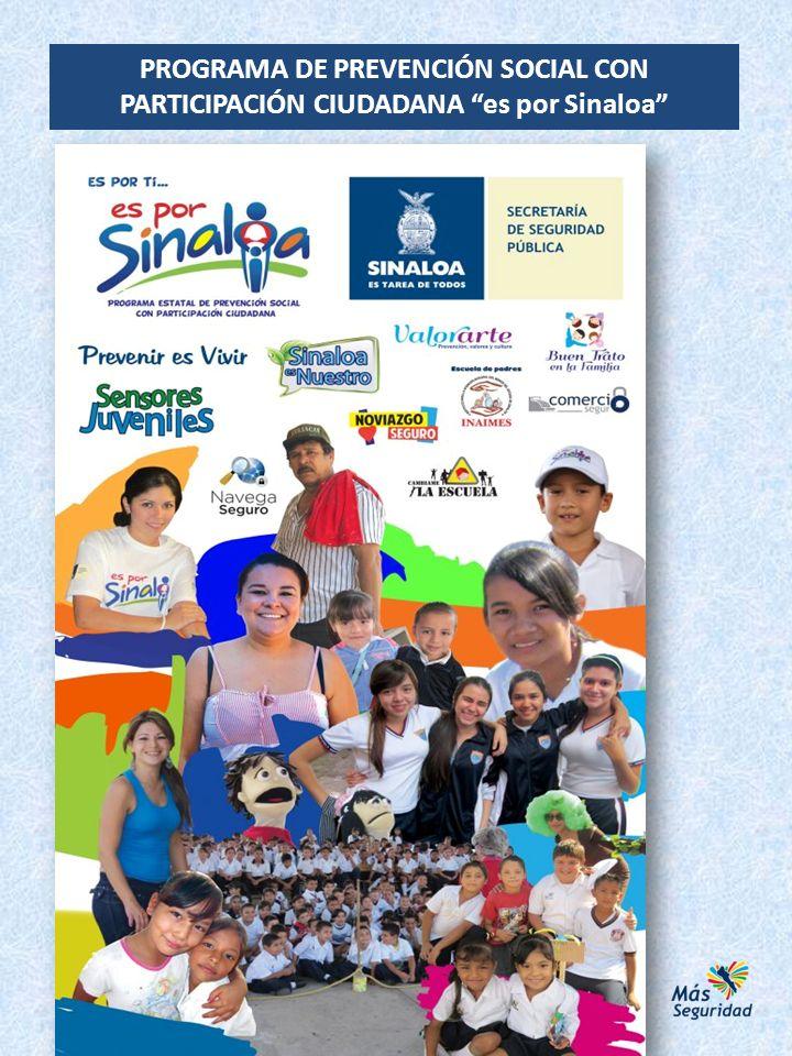 PROGRAMA SINALOA ES NUESTRO Enero a Diciembre de 2012.