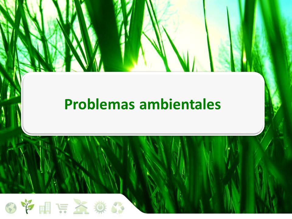 5 Situación medioambiental Problemas ambientales