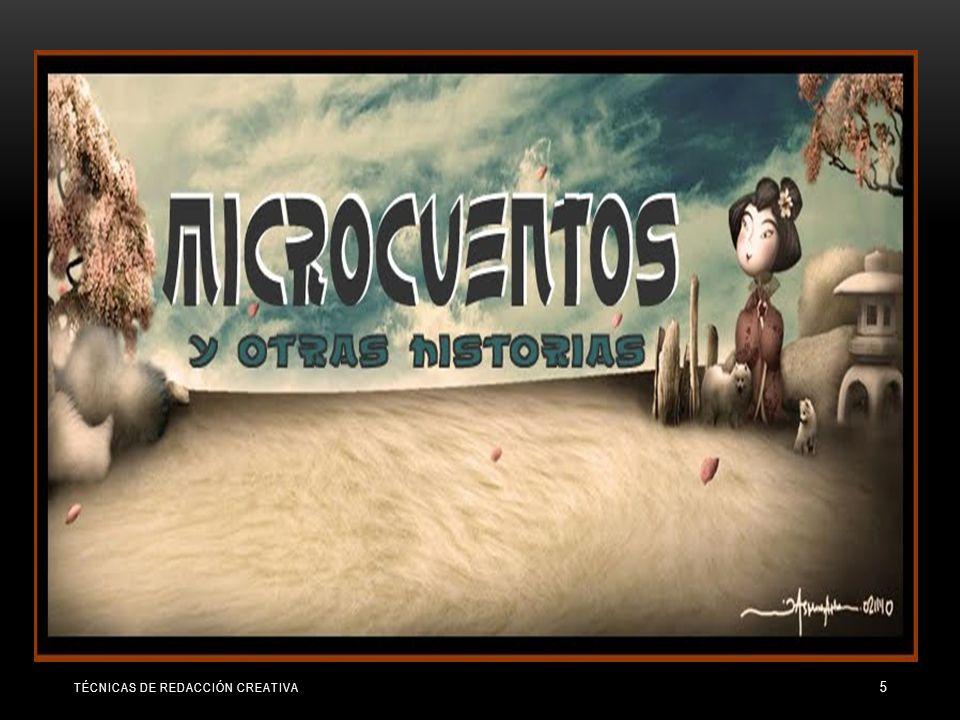 TÉCNICAS DE REDACCIÓN CREATIVA 5