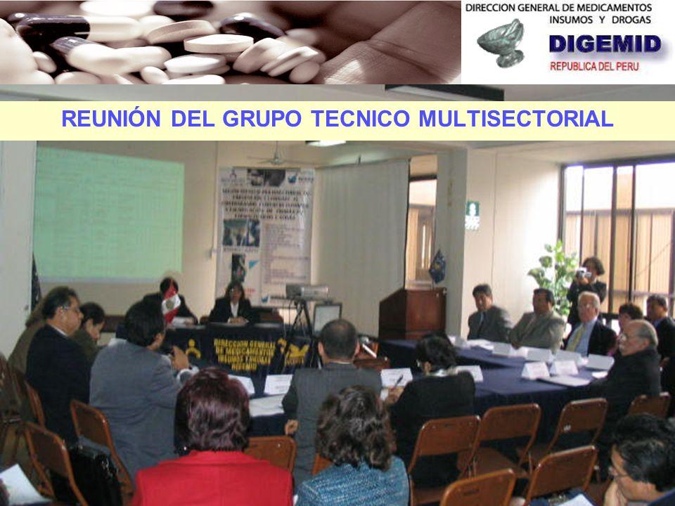 En el año 2006 se constituye el GRUPO TÉCNICO MULTISECTORIAL DE PREVENCION Y COMBATE AL CONTRABANDO, COMERCIO ILEGAL Y FALSIFICACIÓN DE PRODUCTOS FARM