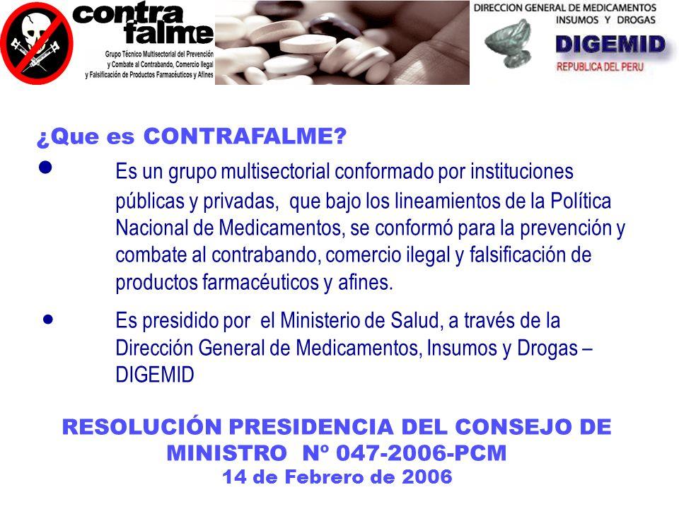 PRESENTÓ OFICIALMENTE AL GRUPO CONTRAFALME 16 de Mayo del 2006