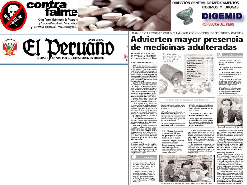 EXPOSICIÓN DEL MERCADO ILICITO A NIVEL DE AMERICA LATINA