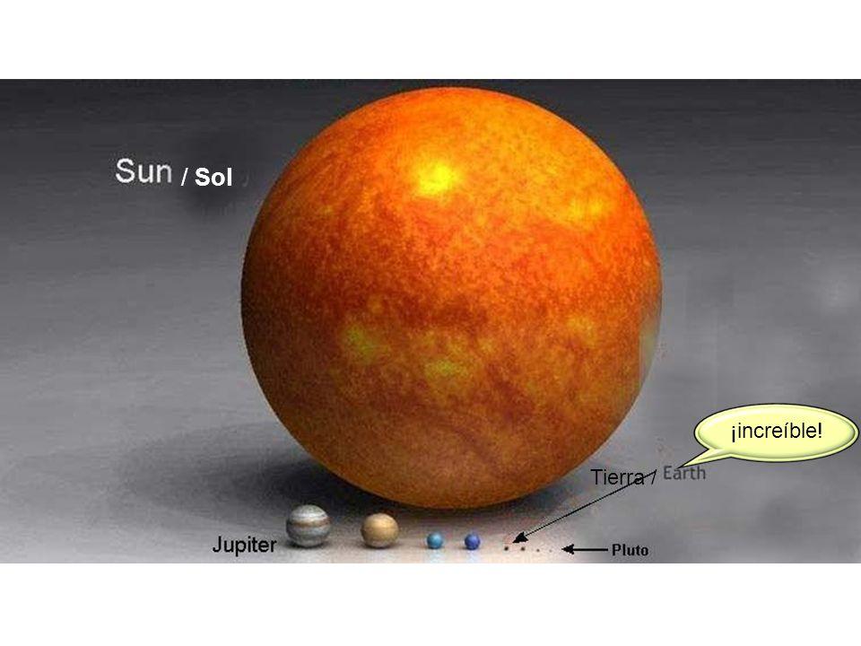 ¡increíble! Tierra / / Sol