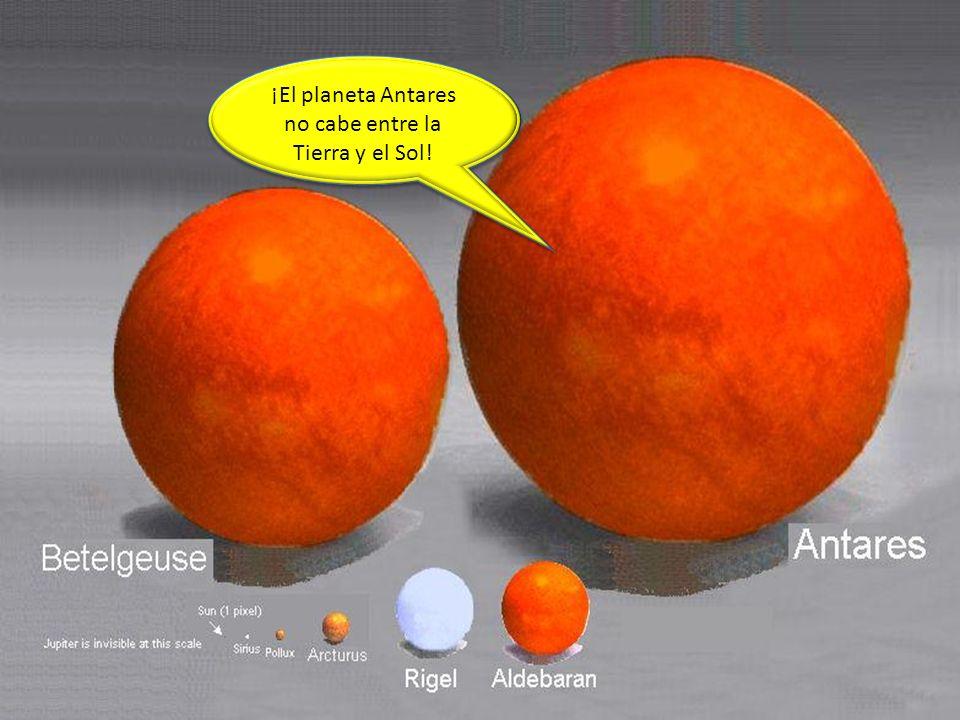 Universe 5 ¡El planeta Antares no cabe entre la Tierra y el Sol!