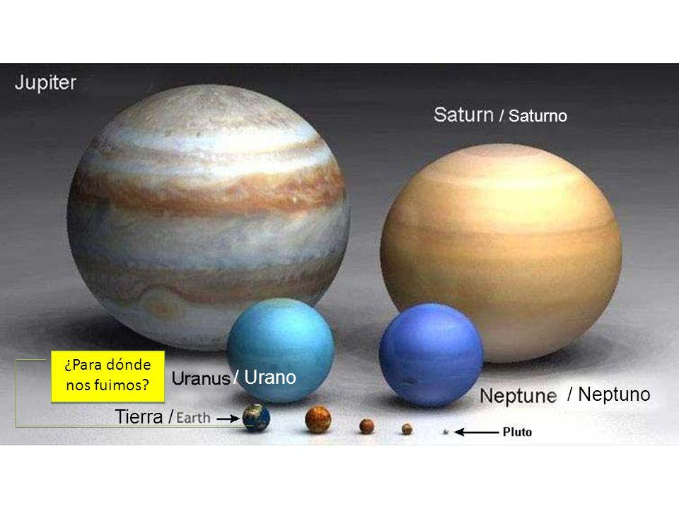 ¿Para dónde nos fuimos? / Saturno / Neptuno / Urano Tierra /